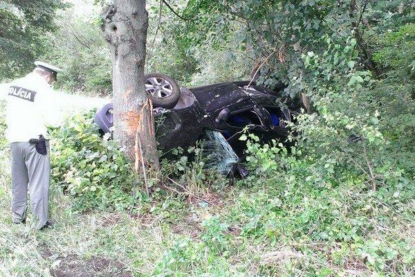 Vyhasnutý život. Vodička z Vranovského okresu zomrela po náraze.