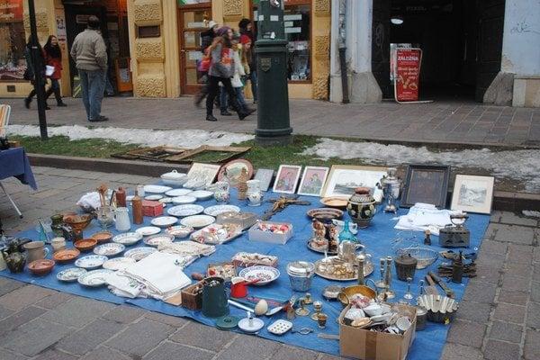 Burza starožitností. V Prešove sa koná už sedem rokov.