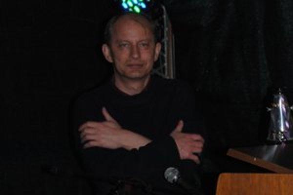 Filip Topol na prvom a zároveň poslednom koncerte v Prešove.