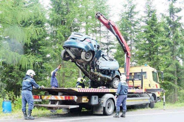Smrteľná nehoda. Stala sa v utorok vo Vysokých Tatrách.