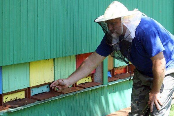 Včelári. Med vraj niekedy pokazia aj sami, keď ho stáčajú nezrelý.