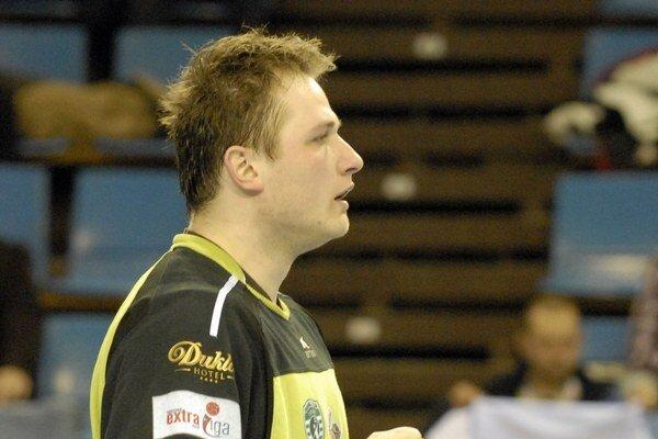 Jakub Krupa v Hlohovci patril k oporám Prešova.