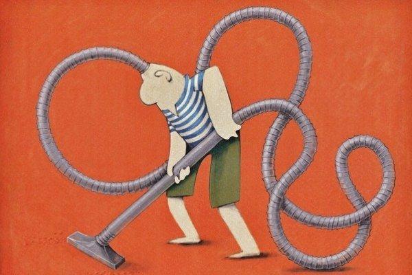 Cena diváka. Za túto kresbu ju získal Prešovčan Peter Sedlák.
