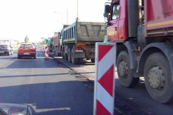 Švábska ulica. Od soboty bude znova otvorená.