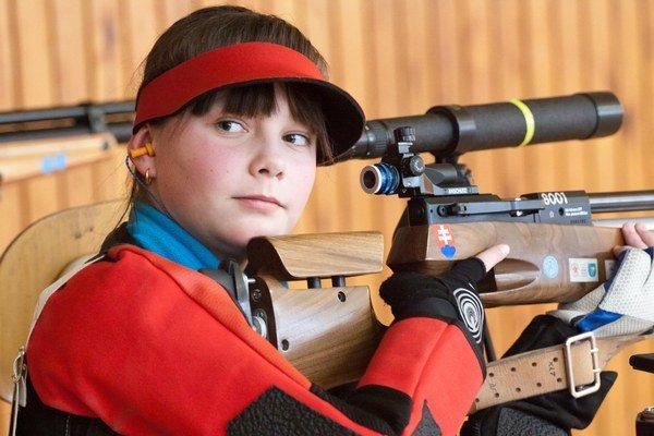 Ivana Olšavská. Dorastenka podľahla olympioničke vo finále najtesnejším rozdielom.