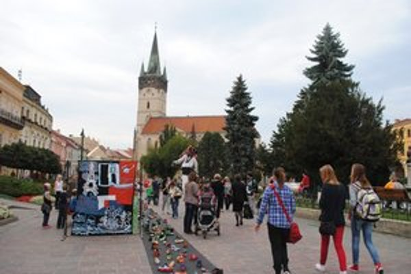Podujatie Euro–Top–Anka. Priblížilo Prešovčanom kultúry v EÚ.