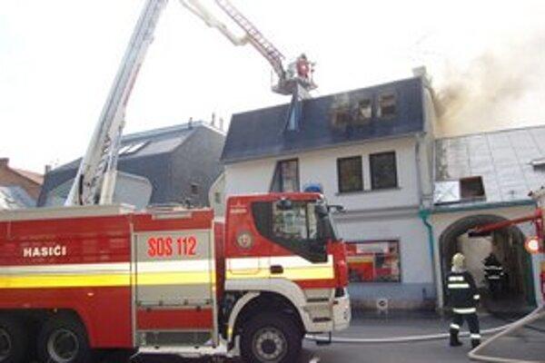 Požiar v centre Prešova. Opatreniami sa dá obmedziť riziko.
