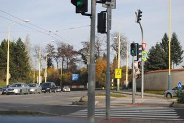Nehodový úsek v Prešove. Vyhasol tu jeden ľudský život.