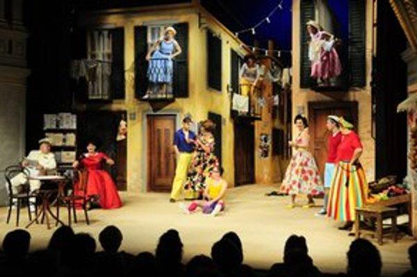 Verejná generálka hudobnej komédie Námestíčko sa dnes konala Historickej budove Divadla Jonáša Záborského.