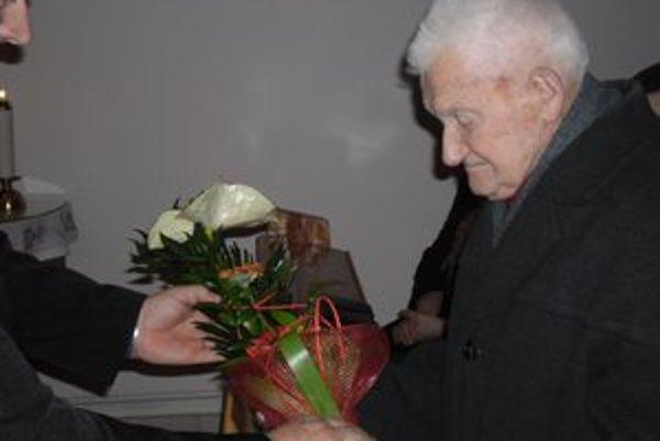 František Múdry je najstarším obyvateľom Ondrašoviec.
