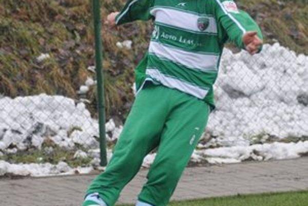 Návrat. Táto momentka je stará tri roky – už vtedy si Augustín obliekol v prípravnom zápase dres Tatrana.