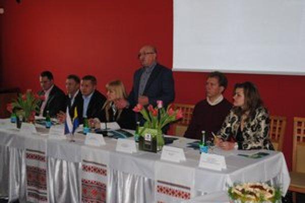 Hostia z Ukrajiny. Prezentovali možnosti svojej krajiny.