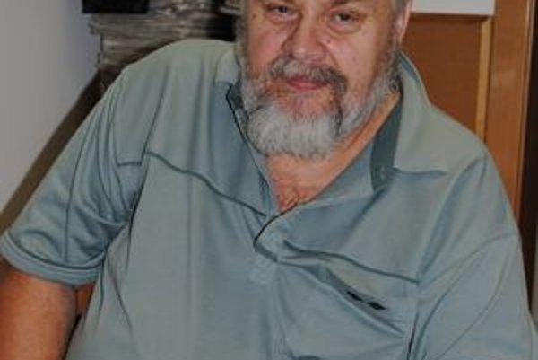 Zosnulý F. Gerlašinský. Jedna z jeho posledných fotografií.