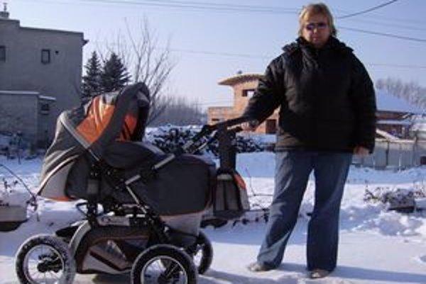 Marta Germušková. Starala sa aj o malé bábätká.