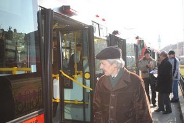 Nové trolejbusy. Čoskoro majú pribudnúť ďalšie.