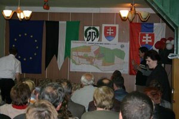 Územný plán Teriakoviec. Za posledných 5 rokov pribudli domy a vznikla nová štvrť.