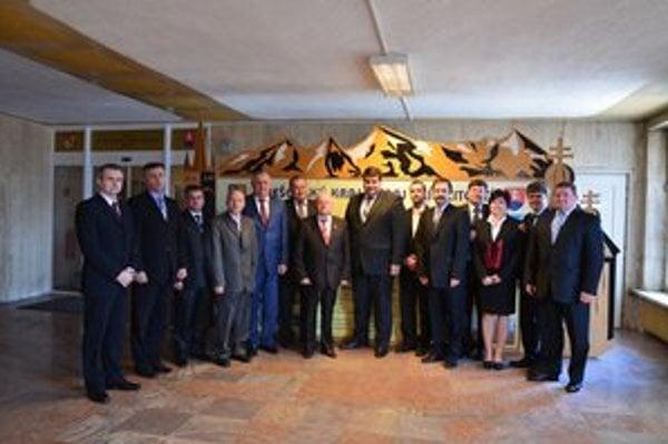 Zástupcovia Zakarpatskej oblasti rokovali o hraničných priechodoch a ďalšej spolupráci