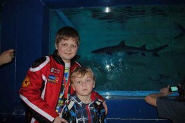 Ján a Jakub. Žralokov obdivovali zo zatajeným dychom.