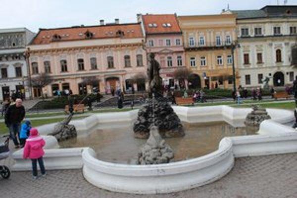 Centrum Prešova. Čoskoro bude v panoramatickej podobe na internete.