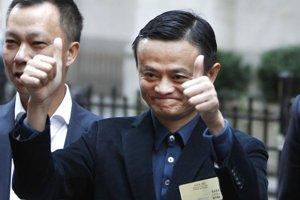 Zakladateľ spoločnosti Alibaba Jack Ma.