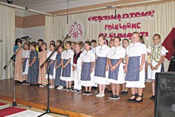 Šedzikartské folklórne slávnosti. Tento rok sa budú konať 10. júna.