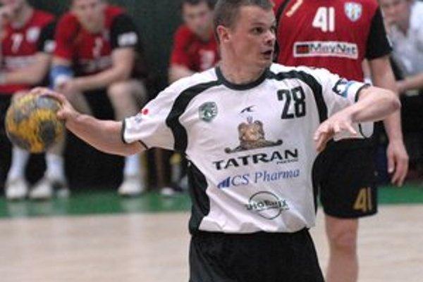 Radoslav Antl. Kapitán Tatrana to vidí na tri víťazné zápasy.