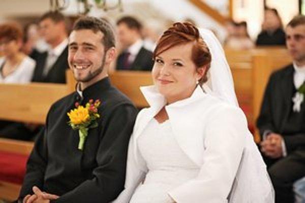 Vlado a Katka Marčákovci. Do manželstva vstúpili šťastne.