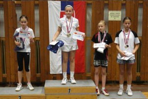Mia Tarcalová sa tešila z prvenstva vo všetkých disciplínach.