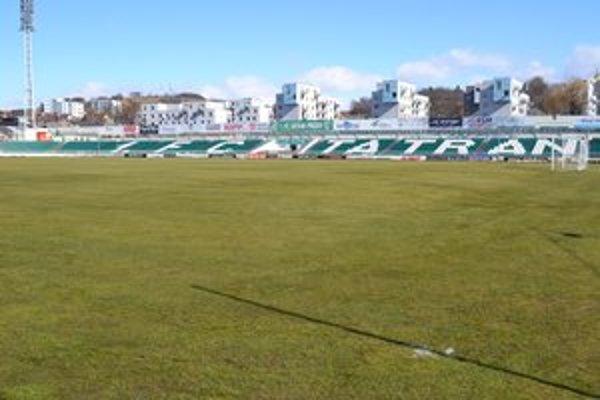 Prešovský futbalový štadión. Bude zívať v budúcej sezóne prázdnotou?