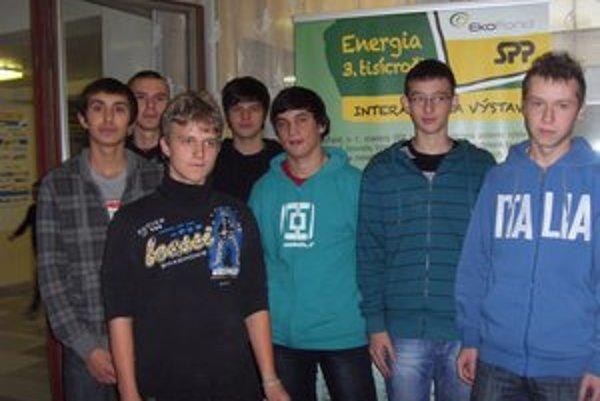 SOŠ technická. Títo žiaci si vybrali odbor technik energetických zariadení budov.