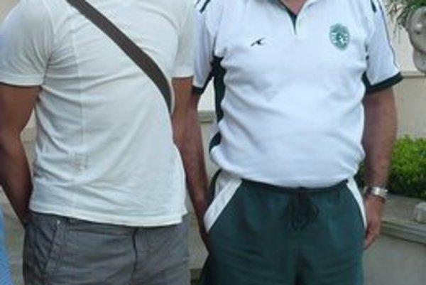 Návrat po roku. Jan Sobol (vľavo) je  opäť hráčom Tatrana.