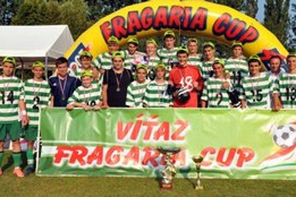 Hráči 1. FC Tatran Prešov. Víťazi kategórie U15.