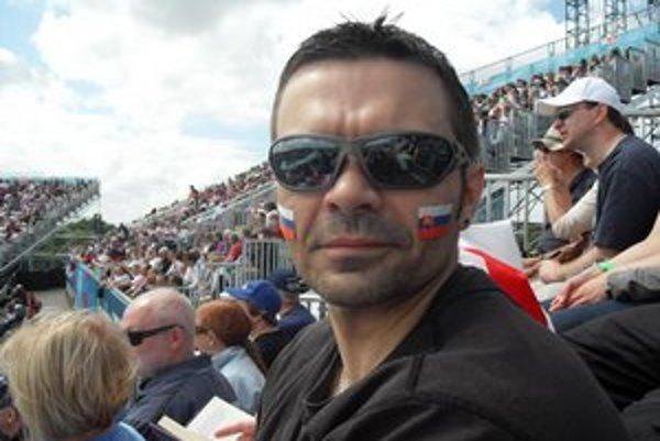 Slavo Radačovský. Olympiádu v srdci Anglicka si naozaj vychutnal.