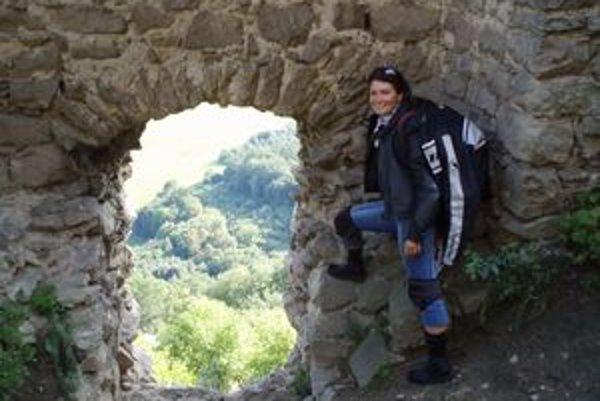 Sidónia Szabóová. Na kapušianskom hrade bola niekoľkokrát.