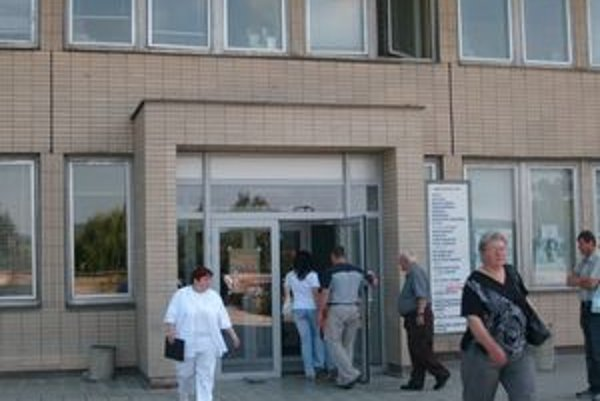 Fakultná nemocnica. Zaznamenali viac pacientov s ťažkosťami z horúčav.