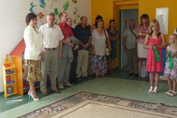 Otvorenie MŠ. Do vynovených priestorov obec investovala 280-tisíc eur.