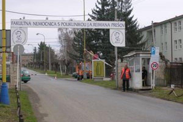 Nemocnica v Prešove. Na operáciu tu môžete čakať i dva roky.