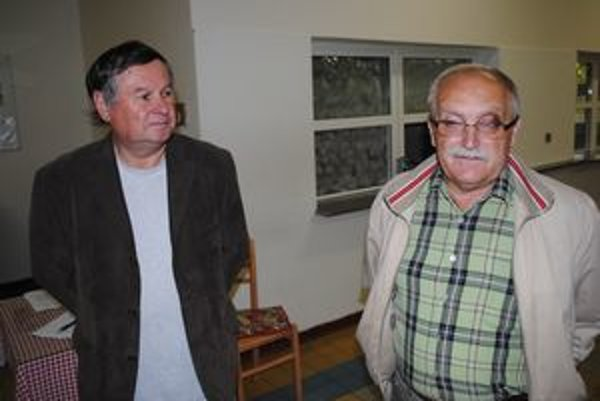 Marián Mochnay (vľavo) a Jozef Krupa.