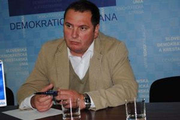 Jozef Muránsky. Prešovský šéf SDKÚ-DS.