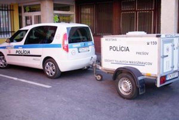 Mestská polícia disponuje špeciálnym vozidlom aj vyškolenými pracovníkmi.