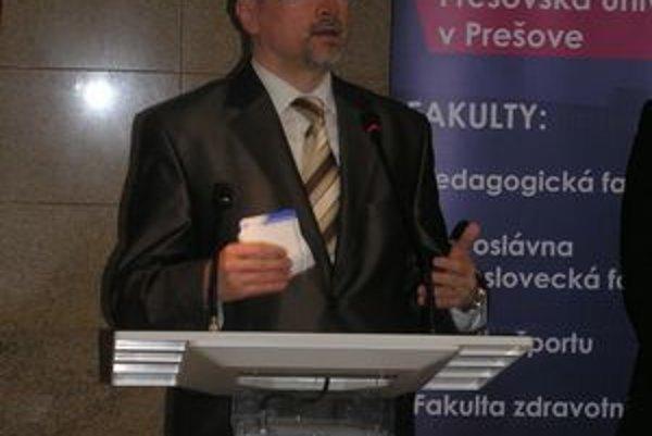 Ocenenie. Podľa rektora René Matloviča je pre nich záväzkom do budúcnosti.