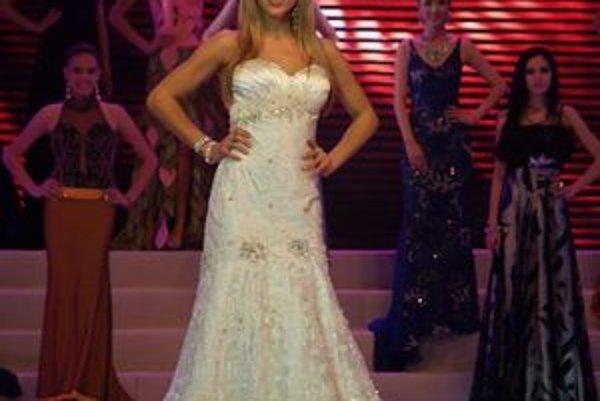 Monika Sabolová. Svojím tanečným predstavením sa dostala medzi Top 3 talentové čísla v súťaži.