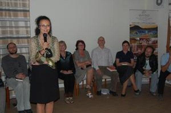 Iveta Hurná. Organizátorka festivalu.