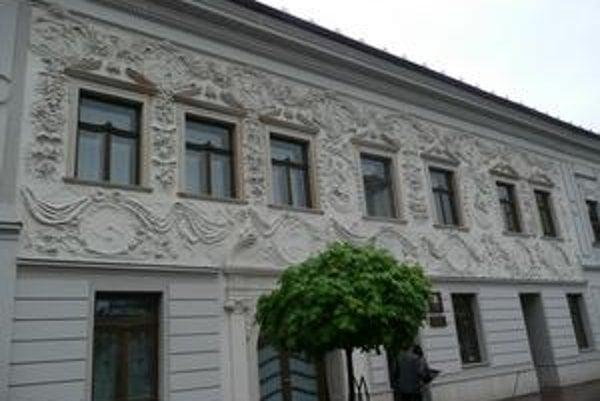 Krajský súd v Prešove. Zrekonštruovali ho za 11 miliónov eur (331 miliónov 386-tisíc korún).
