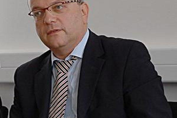 Paul Minarik. Zástupca spoločnosti Spravbytkomfort.