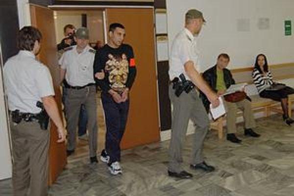 Obžalovaný Marek. Za vraždu rybára ho súd odsúdil na 21-ročné väzenie. Odvolal sa.