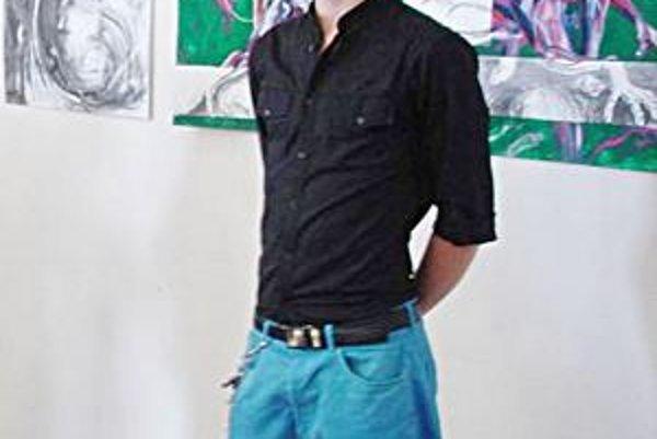 Maroš Baran. Jeho výstavu sprístupnili v priestoroch technického múzea v Prešove-Solivare.