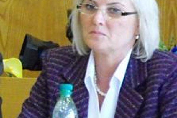 Mária Tužáková. Hlavná kontrolórka Vranova.