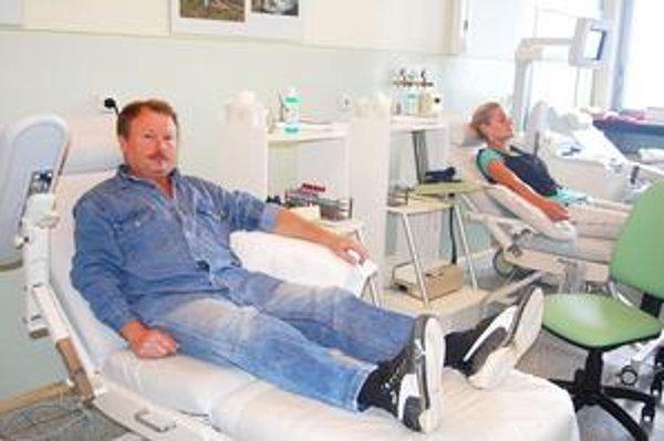 Pavol Filičko. Krv daroval po dvoch rokoch.