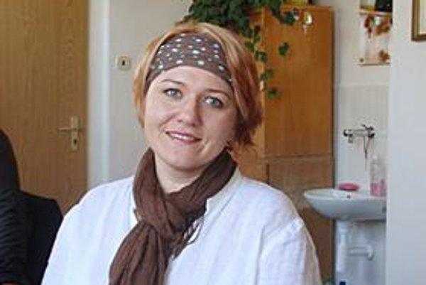 Andrea Pipková. Spievala s Prešovčatmi od ôsmich rokov.